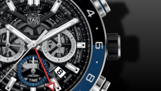 TAG Heuer Carrera Automatic GMT Chronograph 45mm