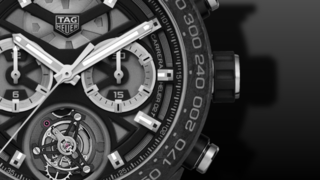 TAG Heuer Carrera Heuer 02 Tourbillon Chronograph 45mm
