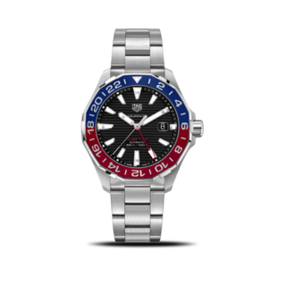 TAG Heuer Herrenuhr Aquaracer Automatic GMT 43mm WAY201F.BA0927