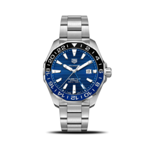 TAG Heuer Herrenuhr Aquaracer Automatic GMT 43mm WAY201T.BA0927