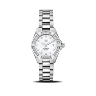 TAG Heuer Damenuhr Aquaracer Lady Quartz 27mm WBD1415.BA0741