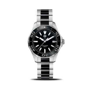 TAG Heuer Damenuhr Aquaracer Lady Quartz 35mm WAY131A.BA0913