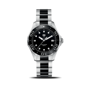 TAG Heuer Damenuhr Aquaracer Lady Quartz 35mm WAY131C.BA0913
