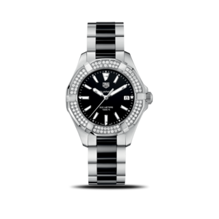 TAG Heuer Damenuhr Aquaracer Lady Quartz 35mm WAY131E.BA0913