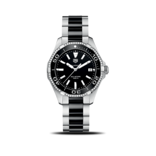 TAG Heuer Damenuhr Aquaracer Lady Quartz 35mm WAY131G.BA0913