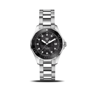 TAG Heuer Damenuhr Aquaracer Lady Quartz 35mm WAY131M.BA0748