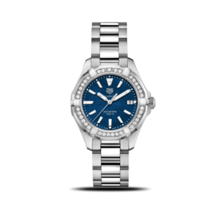 TAG Heuer Damenuhr Aquaracer Lady Quartz 35mm WAY131N.BA0748