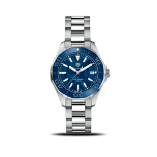 TAG Heuer Damenuhr Aquaracer Lady Quartz 35mm WAY131S.BA0748