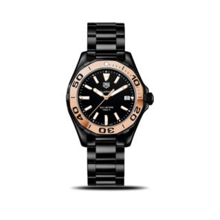 TAG Heuer Damenuhr Aquaracer Lady Quartz 35mm WAY1355.BH0716