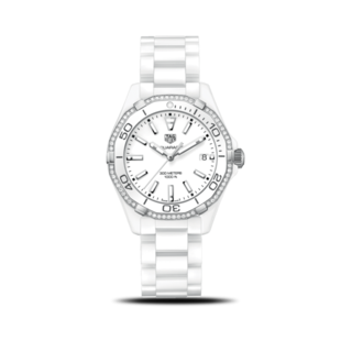 TAG Heuer Damenuhr Aquaracer Lady Quartz 35mm WAY1396.BH0717