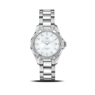 TAG Heuer Damenuhr Aquaracer Lady Quartz 35mm WBD131B.BA0748