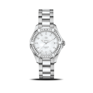 TAG Heuer Damenuhr Aquaracer Lady Quartz 35mm WBD131C.BA0748