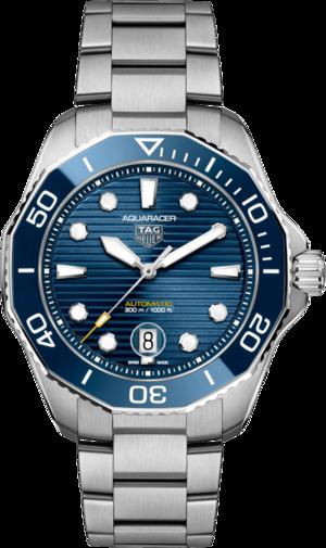 Herrenuhr TAG Heuer Aquaracer Professional 300 mit blauem Zifferblatt und Edelstahlarmband