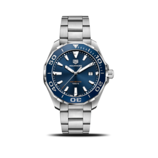 TAG Heuer Herrenuhr Aquaracer Quartz 43mm WAY101C.BA0746