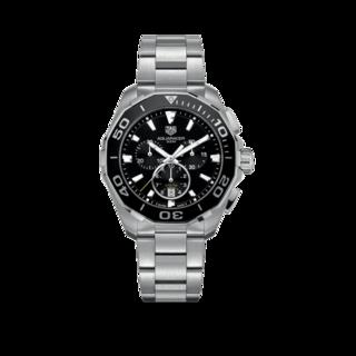 TAG Heuer Herrenuhr Aquaracer Quartz Chronograph 43mm CAY111A.BA0927