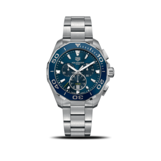 TAG Heuer Herrenuhr Aquaracer Quartz Chronograph 43mm CAY111B.BA0927