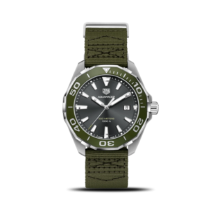 TAG Heuer Herrenuhr Aquaracer Quarz 43mm WAY101L.FC8222
