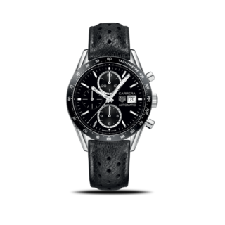 TAG Heuer Herrenuhr Carrera Automatic Chronograph 41mm CV201AJ.FC6357