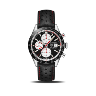 TAG Heuer Herrenuhr Carrera Automatic Chronograph 41mm CV201AP.FC6429