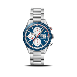 TAG Heuer Herrenuhr Carrera Automatic Chronograph 41mm CV201AR.BA0715