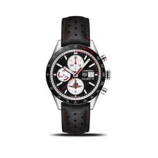TAG Heuer Herrenuhr Carrera Automatic Chronograph 41mm Indy 500 CV201AS.FC6429