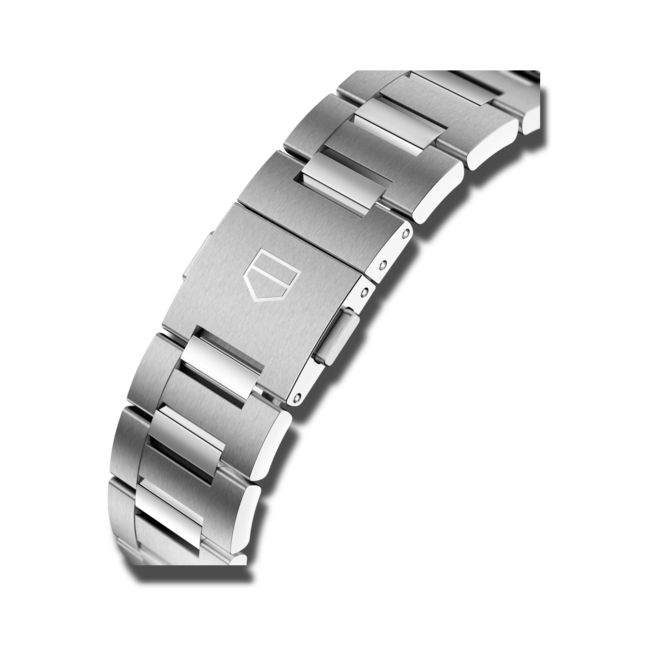 Herrenuhr TAG Heuer Carrera Automatic Chronograph 42mm mit blauem Zifferblatt und Edelstahlarmband bei Brogle