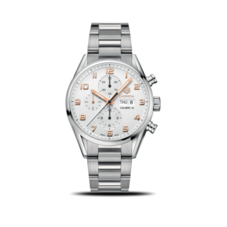 TAG Heuer Herrenuhr Carrera Automatic Chronograph 43mm CV2A1AC.BA0738