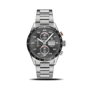 TAG Heuer Herrenuhr Carrera Automatic Chronograph 43mm CV2A1U.BA0738