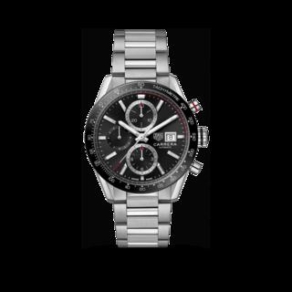 TAG Heuer Herrenuhr Carrera Automatik Chronograph 41mm CBM2110.BA0651