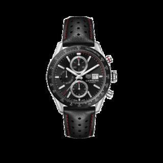 TAG Heuer Herrenuhr Carrera Automatik Chronograph 41mm CBM2110.FC6454