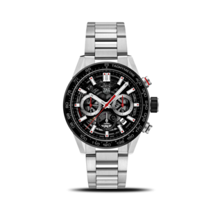 TAG Heuer Herrenuhr Carrera Heuer 02 Chronograph 43mm CBG2010.BA0662
