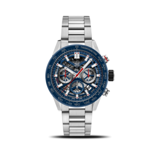 TAG Heuer Herrenuhr Carrera Heuer 02 Chronograph 43mm CBG2011.BA0662