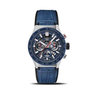 TAG Heuer Herrenuhr Carrera Heuer 02 Chronograph 43mm CBG2011.FC6430