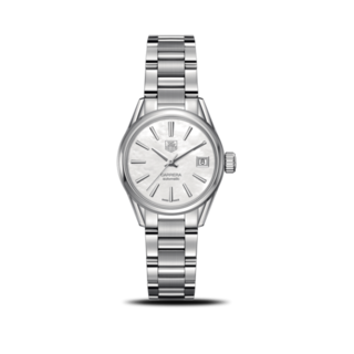 TAG Heuer Damenuhr Carrera Lady Automatic 28mm WAR2411.BA0776