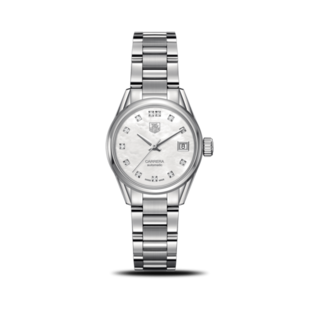 TAG Heuer Damenuhr Carrera Lady Automatic 28mm WAR2414.BA0776