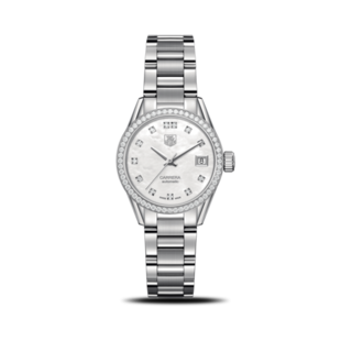 TAG Heuer Damenuhr Carrera Lady Automatic 28mm WAR2415.BA0776