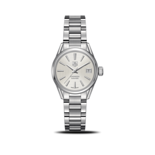TAG Heuer Damenuhr Carrera Lady Automatic 28mm WAR2416.BA0776