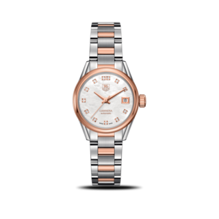TAG Heuer Damenuhr Carrera Lady Automatic 28mm WAR2452.BD0777