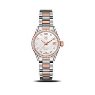 TAG Heuer Damenuhr Carrera Lady Automatic 28mm WAR2453.BD0777