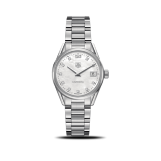 TAG Heuer Damenuhr Carrera Lady Quartz 32mm WAR1314.BA0778