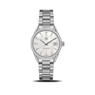 TAG Heuer Damenuhr Carrera Lady Quartz 32mm WAR1315.BA0778