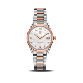 TAG Heuer Damenuhr Carrera Lady Quartz 32mm WAR1352.BD0779
