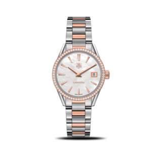 TAG Heuer Damenuhr Carrera Lady Quartz 32mm WAR1353.BD0779
