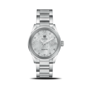 TAG Heuer Damenuhr Carrera Lady Quartz 36mm WBG1312.BA0758