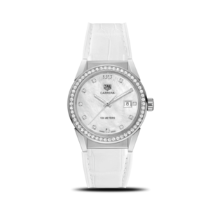TAG Heuer Damenuhr Carrera Lady Quartz 36mm WBG1315.FC6412