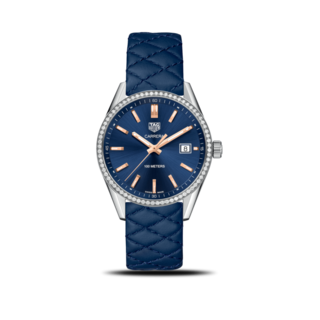 TAG Heuer Damenuhr Carrera Lady Quartz 39mm WAR1114.FC6391