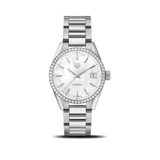TAG Heuer Damenuhr Carrera Quarz 36mm WBK1316.BA0652