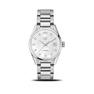 TAG Heuer Damenuhr Tag Heuer Carrera Lady 36mm Quarz WBK1318.BA0652