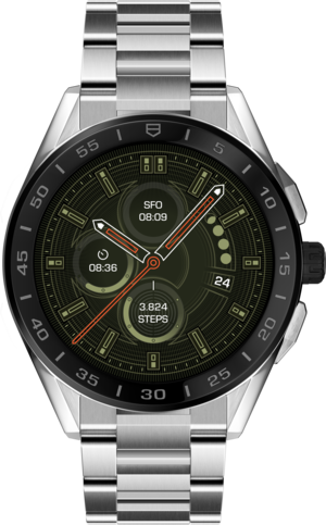 Smartwatch TAG Heuer Connected mit Edelstahlarmband