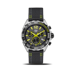 TAG Heuer Herrenuhr Formula 1 Quartz Chronograph 43mm CAZ101AG.FC8304